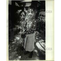 1980 Press Photo Kingdom of Oyotunji, South Carolinia. - cvb21917