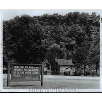 Press Photo Knob Creek Farm-Hodgenville Kentucky - cvb24353