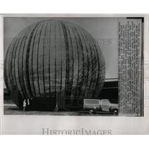 1957 Press Photo RADOME AIR FORCE'S DEVELOPMENT - RRW67177