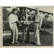 1937 Press Photo Leon Pettigrew wins Southern Amateur GOlf Tourney - nes55519