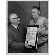 1963 Press Photo John McIntire Media Award ABC TV John - RRW11467