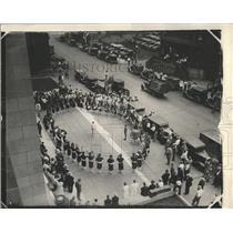 1926 Press Photo Colorado Band Play in Ararat Temple. - RRX85453
