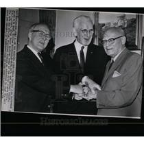 1964 Press Photo Civil Rights Bill Passed - RRW07077