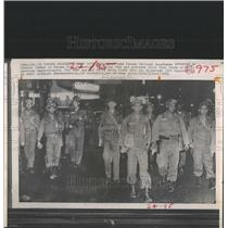 1965 Press Photo Panama National Guardsmen America Demo - RRX82213