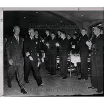 1953 Press Photo President Eisenhower Naval academy - RRX68411
