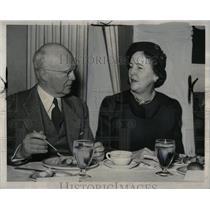 1950 Press Photo Phelps Newberry American Red Cross