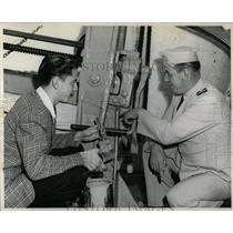 1943 Press Photo Coast Guard Recruit John Turmala, Jr. - RRW84053