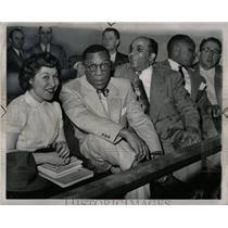 1962 Press Photo Communist Inquiry Trial Onlookers - RRW90705