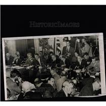 1954 Press Photo Senators and counsel hear McCarthy - RRW08249
