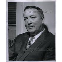 1961 Press Photo Clifford J Sullivan Model Bureau - RRX50761