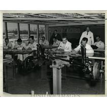 1959 Press Photo Mechanics Import Motors Chicago - RRW64143