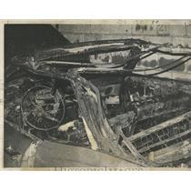 1972 Press Photo car fire Bellecourt Indian Movement - RRX98535
