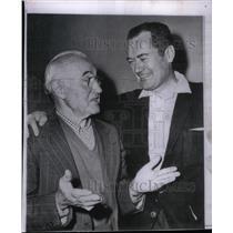 1959 Press Photo Donald Crisp Frank Lovejay Playhouse90 - RRX47459
