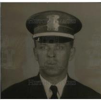 1934 Press Photo Detroit Patrolman Officer Frank Ponke - RRX41235