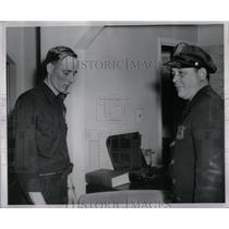 1954 Press Photo Charles Dotson Rolph Stevens Detroit - RRX51483