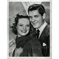 1942 Press Photo Alexis Smith Craig Stevens Gail Shikel - RRW72741