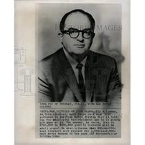 1964 Press Photo Ely A. Landau Film Producer