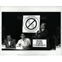 1992 Press Photo Jeremy Rifkin Pure Foods President