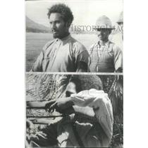 1941 Press Photo Ethiopian Tribesman British Africa - RRX89049
