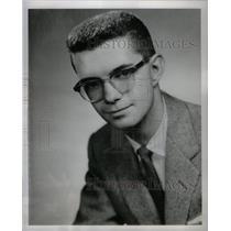 1959 Press Photo John M. Grubbs WJBK-Radio Director - RRX59833