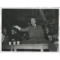 1941 Press Photo Micheal Widman Jr UAW Detroit Coliseum - RRX97153