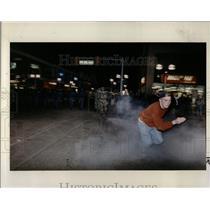 1992 Press Photo College Students Riots - RRW01381