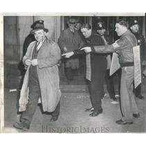 1948 Press Photo Business Striking Employees New York