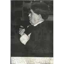 1938 Press Photo John Lewis president Mine Workers Union