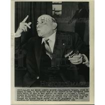 "1959 Press Photo General Humberto Delgado, seizure of Portuguese, ""Santa Maria."""