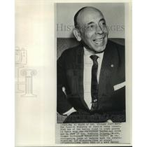1965 Press Photo General Humberto Delgado, former Portuguese opposition leader