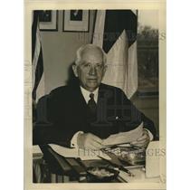 1938 Press Photo Norman H. Davis, Chairman of the American Red Cross - nox14806