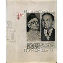 1957 Press Photo Is mail Chundrigar succeeds H.S. Suhrawardy as Pakistan Premier