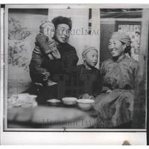1964 Press Photo Family of Communist-governed Mongolian People Republic