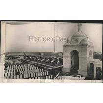 1927 Press Photo Great triumphal arch erected at Menin Gate at Ypres, Belguim