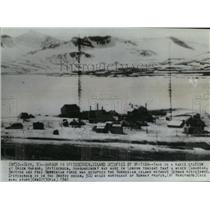 1941 Press Photo Green Harbor Spitsbergen occupied by allied forces - spa90581
