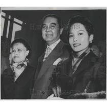 1956 Press Photo Prince Wan Waithayakon, Elected Pres. of U.N. General Assembly