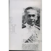 1951 Press Photo Thailand's Premier Pibulsonggram - spb04846