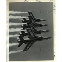1965 Press Photo The Navy's Blue Angel supersonic flight demonstration team