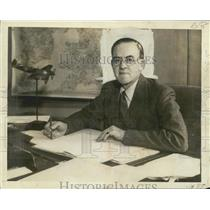 1942 Press Photo England's Minister of Aircraft Production, Sir Stafford Cripps
