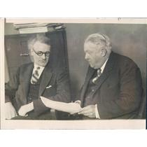 1924 Press Photo Chicago Advertising Exec YK Smith, Atty Samuel Hamilton