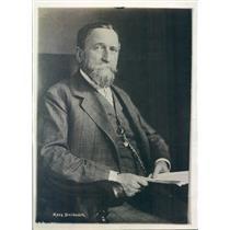 1918 Press Photo Berlin Germany Hans Delbruek History Professor - ner20821