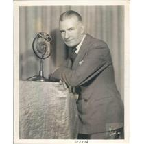 1930 Press Photo Tom Kennedy of NBC Radio - ner26187