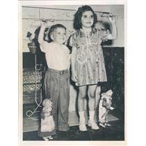 1940 Press Photo Denver CO James & Marjorie Hanson Born In Leap Year - ner26235