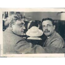 1924 Press Photo Chicago IL Dr William Healy & Dr Bernard Glueck - ner27815