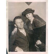 1921 Press Photo Chicago IL Bandit Kurt & Cleo Hurtzman His Lure Wife