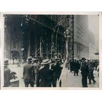 1929 Press Photo Chicago IL Aviator Charles Lindbergh Homecoming Parade