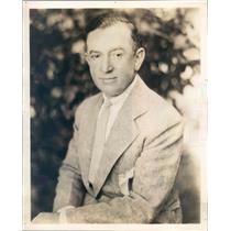 1929 Press Photo Chicago IL Andrew Weisburg Worlds Biggest Restaurant