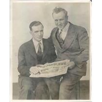 1927 Press Photo Chicago IL Harry Ratcliffe & William Seligmann - ner36891