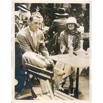 1923 Press Photo Deauville France Mr Pucinello Casino Winner - ner37303