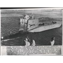 1961 Press Photo Ative Missile submarine Patrol USS - RRX99317